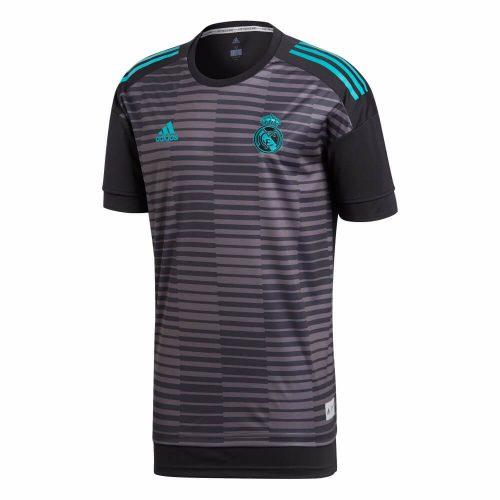 adidas Real Madrid Pre Match Trainingsshirt 2018 Black Granite