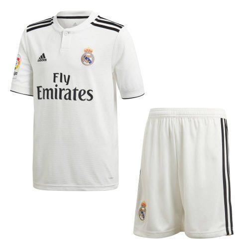 adidas Real Madrid Thuis Tenue 2018-2019 Kids