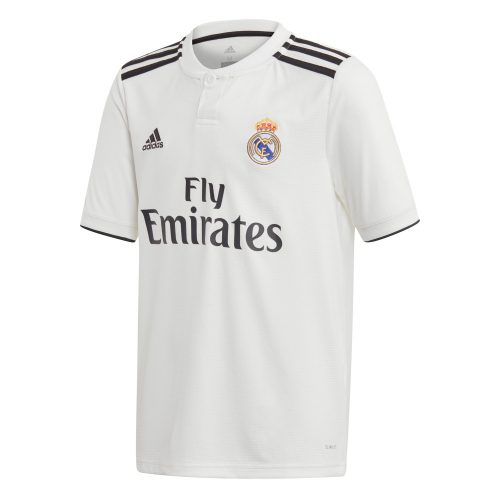 adidas Real Madrid Thuisshirt 2018-2019 Kids