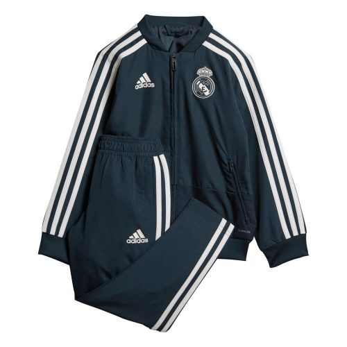 adidas Real Madrid Pesentatie Baby Trainingspak 2018-2019 Tech Onix