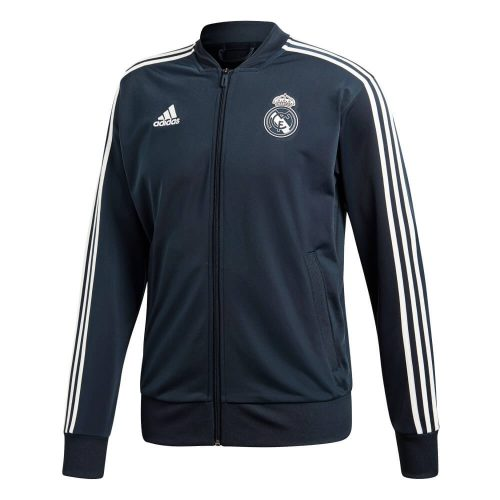 adidas Real Madrid Trainingsjack 2018-2019 Tech Onix White