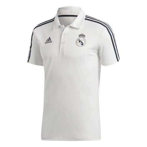 adidas Real Madrid Polo 2018-2019 Cream White