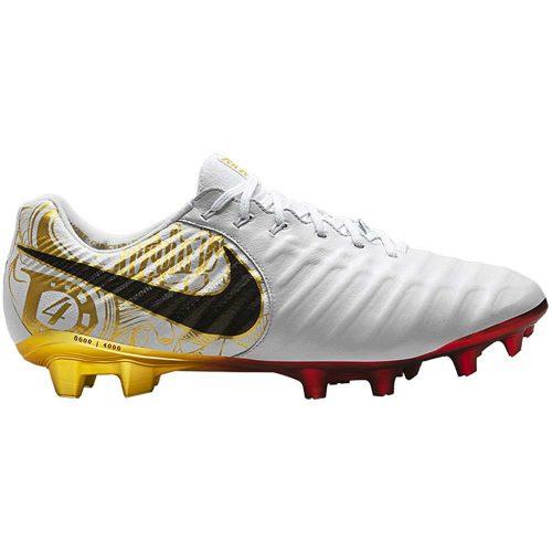 Nike Tiempo Legend VII Special Edition Sergio Ramos FG White Metallic