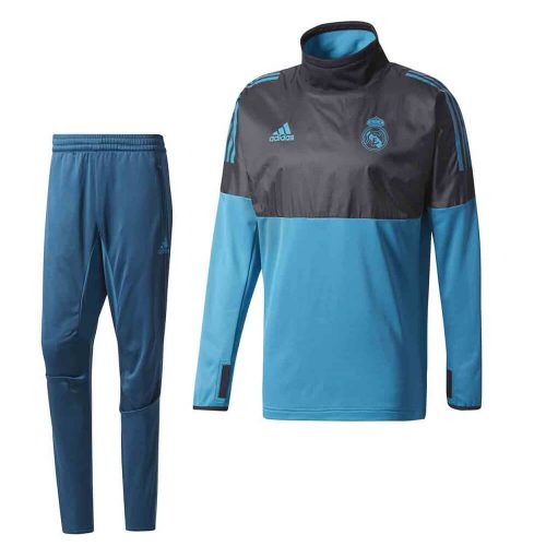 adidas Real Madrid Champions League Hybride Trainingspak 2018 Black Vivtea
