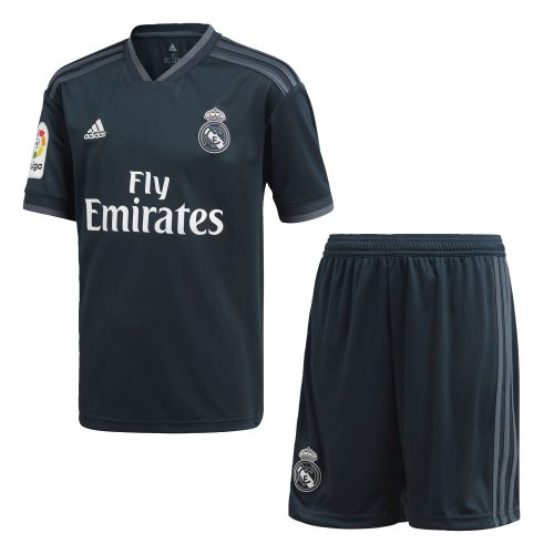 adidas Real Madrid Uit Tenue 2018-2019 Kids