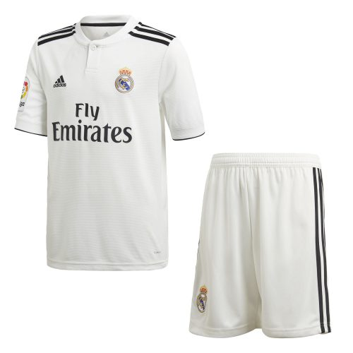 adidas Real Madrid Thuis Tenue 2018-2019 Kids