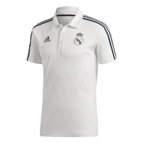 adidas Real Madrid Polo 2018-2019 Cream White