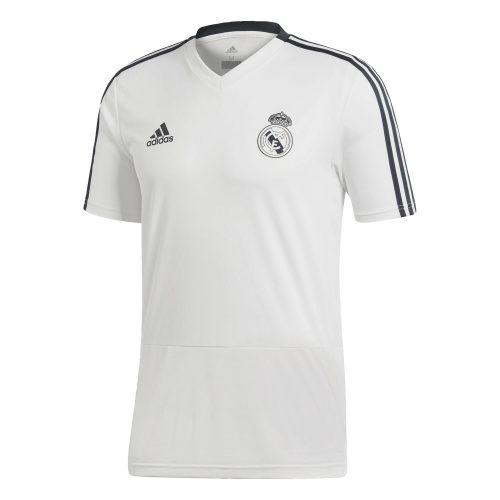 adidas Real Madrid Trainingsshirt 2018-2019 Cream White Tech Onix