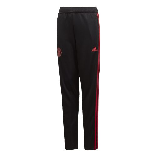adidas Manchester United Trainingsbroek 2018-2019 Kids Black Blaze Red Core Pink