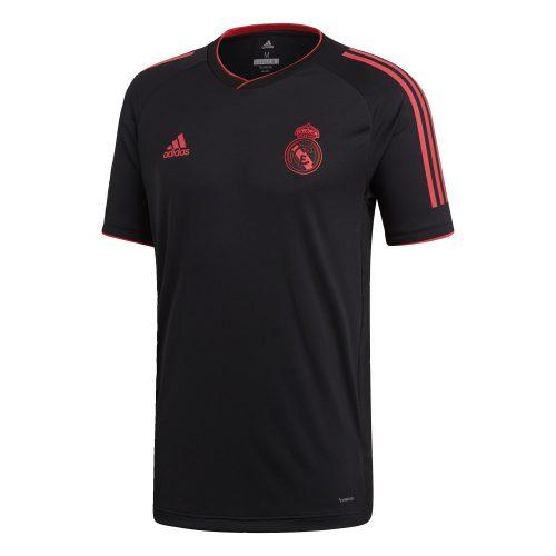 adidas Real Madrid Champions League Trainingsshirt 2018-2019 Black Real Coral