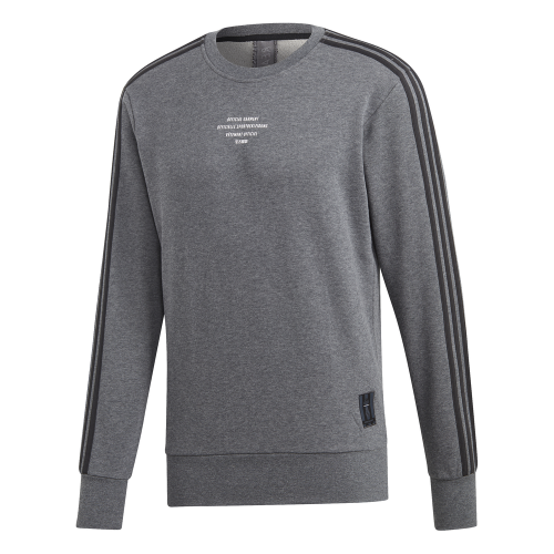 adidas Real Madrid SSP Crew Sweater 2018-2019 Dark Grey Black