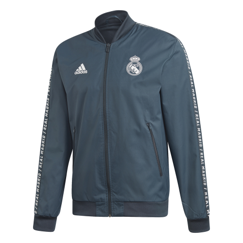 adidas Real Madrid Anthem Trainingsjack 2018-2019 Teal Onix