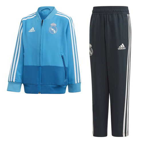 adidas Real Madrid Presentatie Baby Trainingspak 2018-2019 Blue Dark Royal Cream White