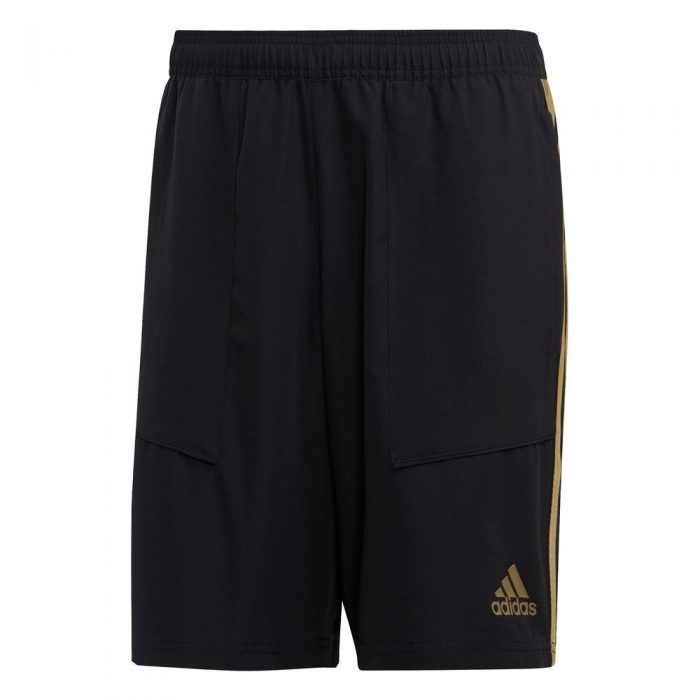 adidas Real Madrid Trainingsbroekje Woven 2019-202020 Zwart Goud