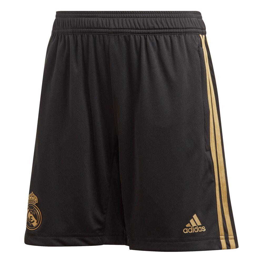 adidas Real Madrid Trainingsbroekje 2019-2020 Kids Zwart Goud