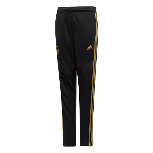 adidas Real Madrid Trainingsbroek 2019-2020 Kids Zwart Goud
