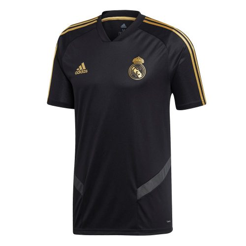 adidas Real Madrid Trainingsshirt 2019-2020 Zwart Goud