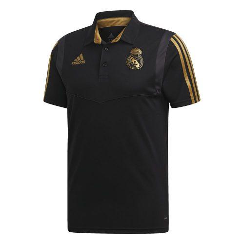 adidas Real Madrid Polo 2019-2020 Zwart Goud