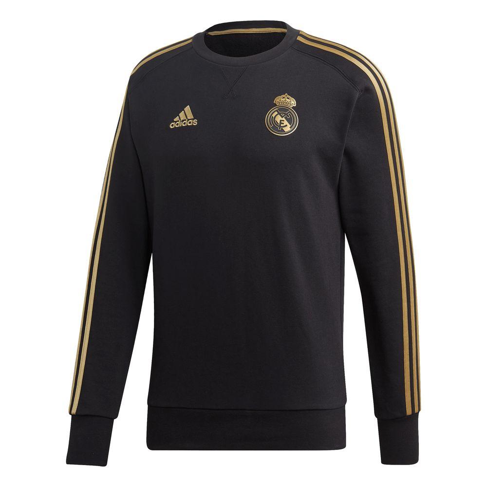 adidas Real Madrid Sweat Trainingstrui 2019-2020 Zwart Goud