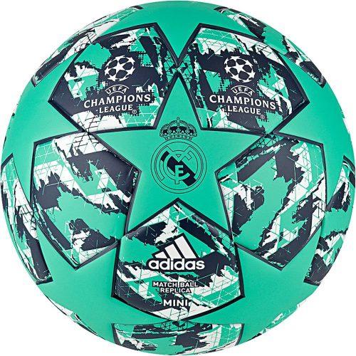 adidas Real Madrid FINALE Mini Voetbal Groen Blauw Wit