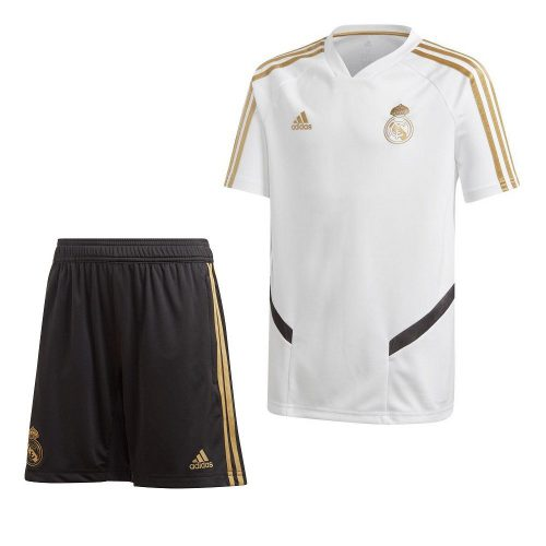 adidas Real Madrid Trainingsset 2019-2020 Kids Wit