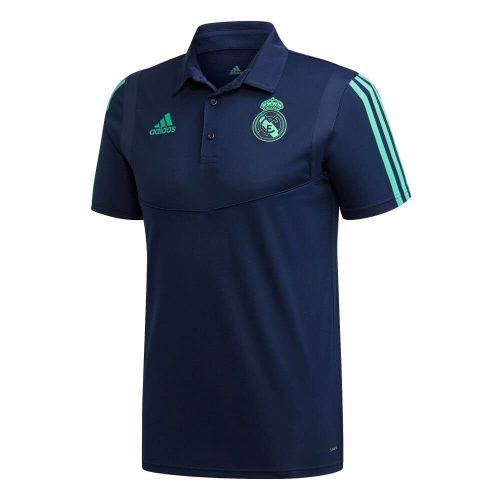 adidas Real Madrid Champions League Polo 2019-2020 Donkerblauw