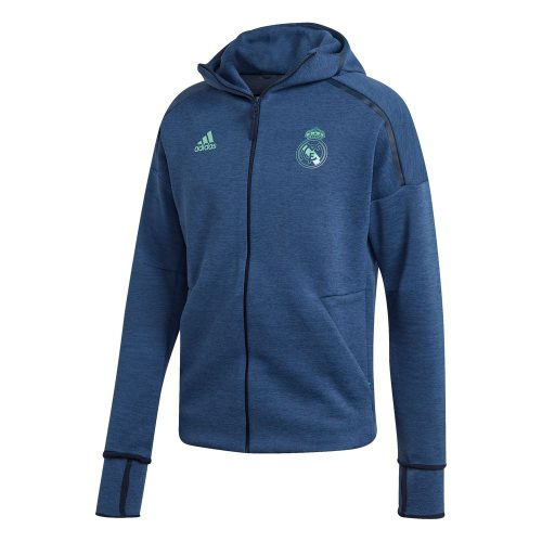 adidas Real Madrid ZNE Hoodie 3.0 Donkerblauw