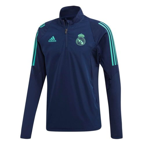adidas Real Madrid Champions League Trainingstrui 2019-2020 Donkerblauw Goud
