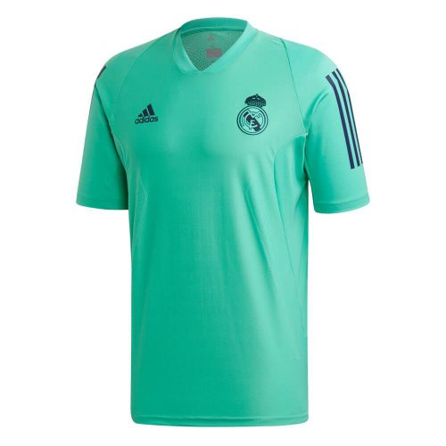 adidas Real Madrid Champions League Trainingsshirt 2019-2020 Turqouise Donkerblauw