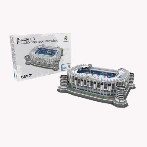 Real Madrid Santiago Bernabeu 3D Stadion Puzzel