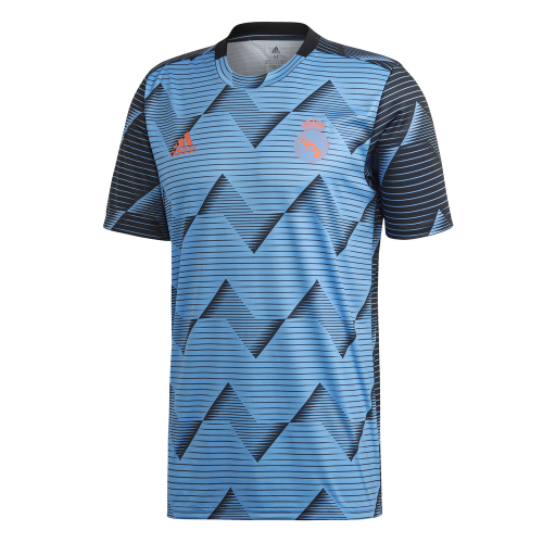 adidas Real Madrid Pre Match Trainingsshirt 2019-2020 Blauw Zwart