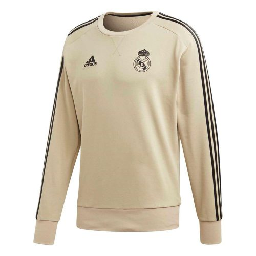 adidas Real Madrid Sweat Trainingstrui Goud Zwart