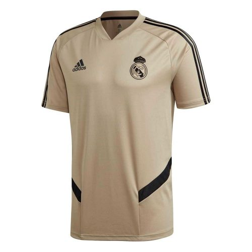 adidas Real Madrid Trainingsshirt 2019-2020 Goud Zwart