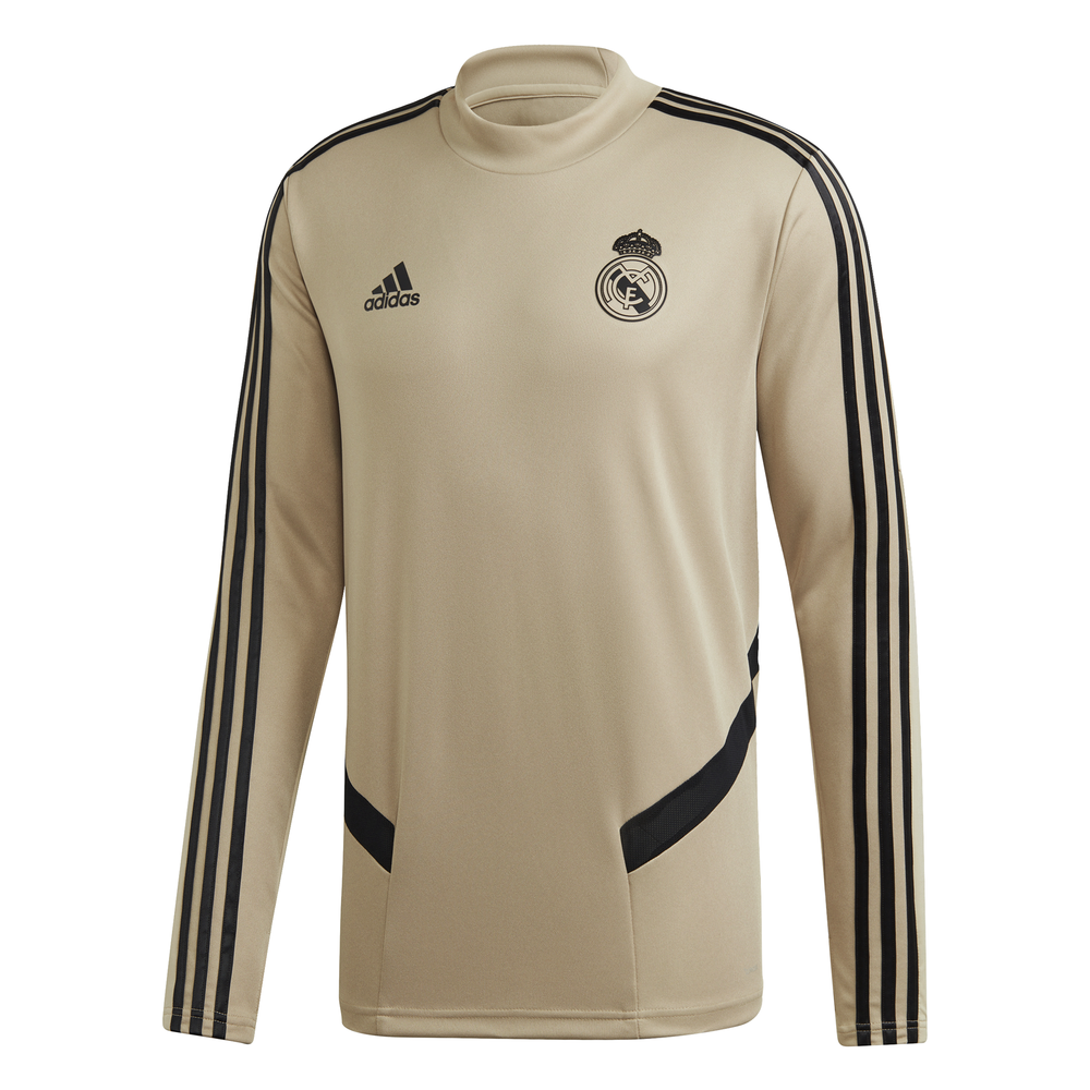 adidas Real Madrid Trainingstrui 2019-2020 Goud Zwart