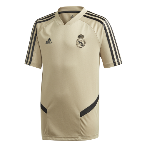 adidas Real Madrid Trainingsshirt 2019-2020 Kids Goud Zwart