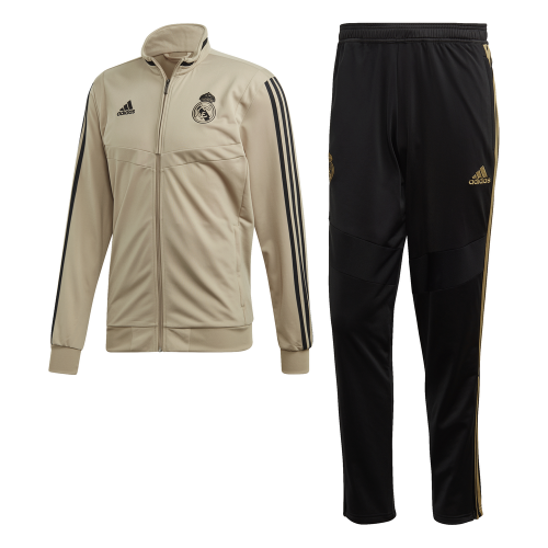 adidas Real Madrid Trainingspak 2019-2020 Goud Zwart