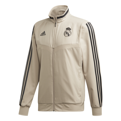 adidas Real Madrid Presentatie Trainingsjack 2019-2020 Goud Zwart