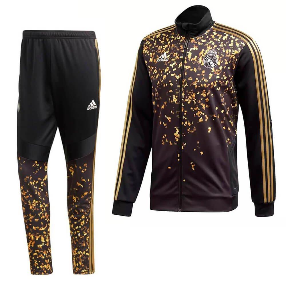 adidas Real Madrid x EA Sports Trainingspak Zwart Goud