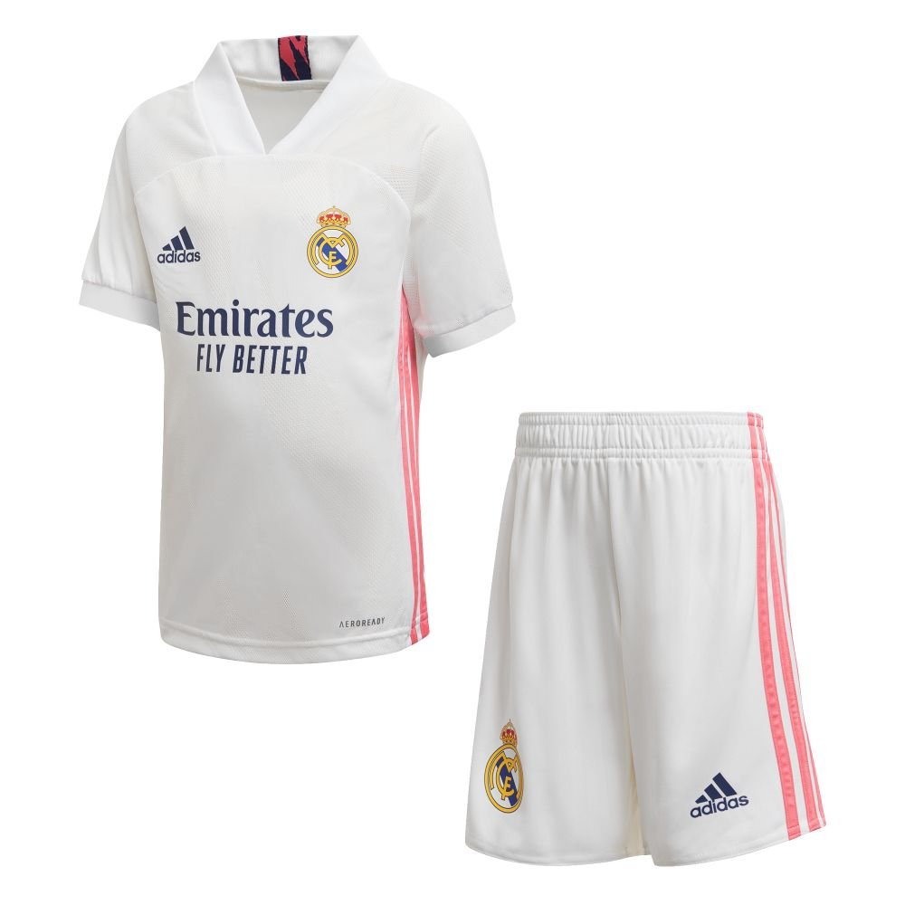 adidas Real Madrid Thuis Tenue 2020-2021 Kids