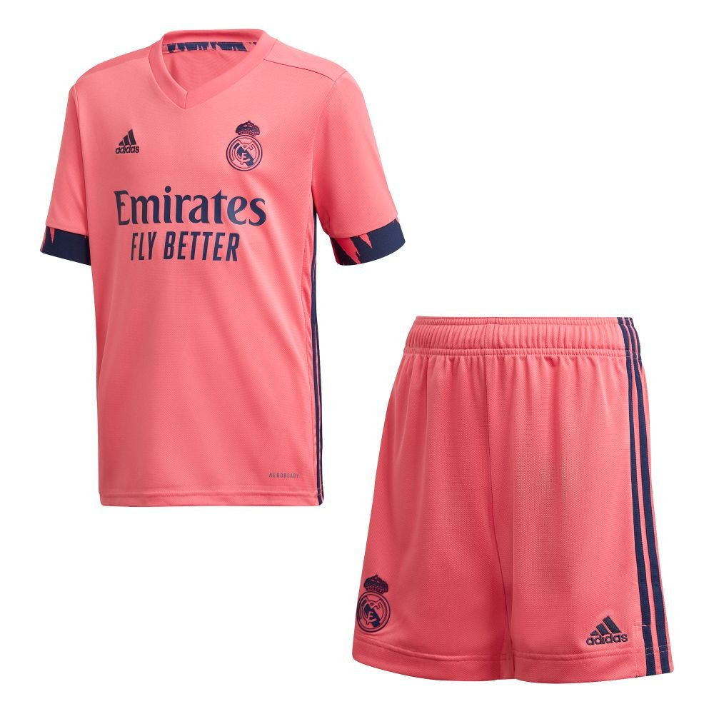 adidas Real Madrid Uit Tenue 2020-2021 Kids
