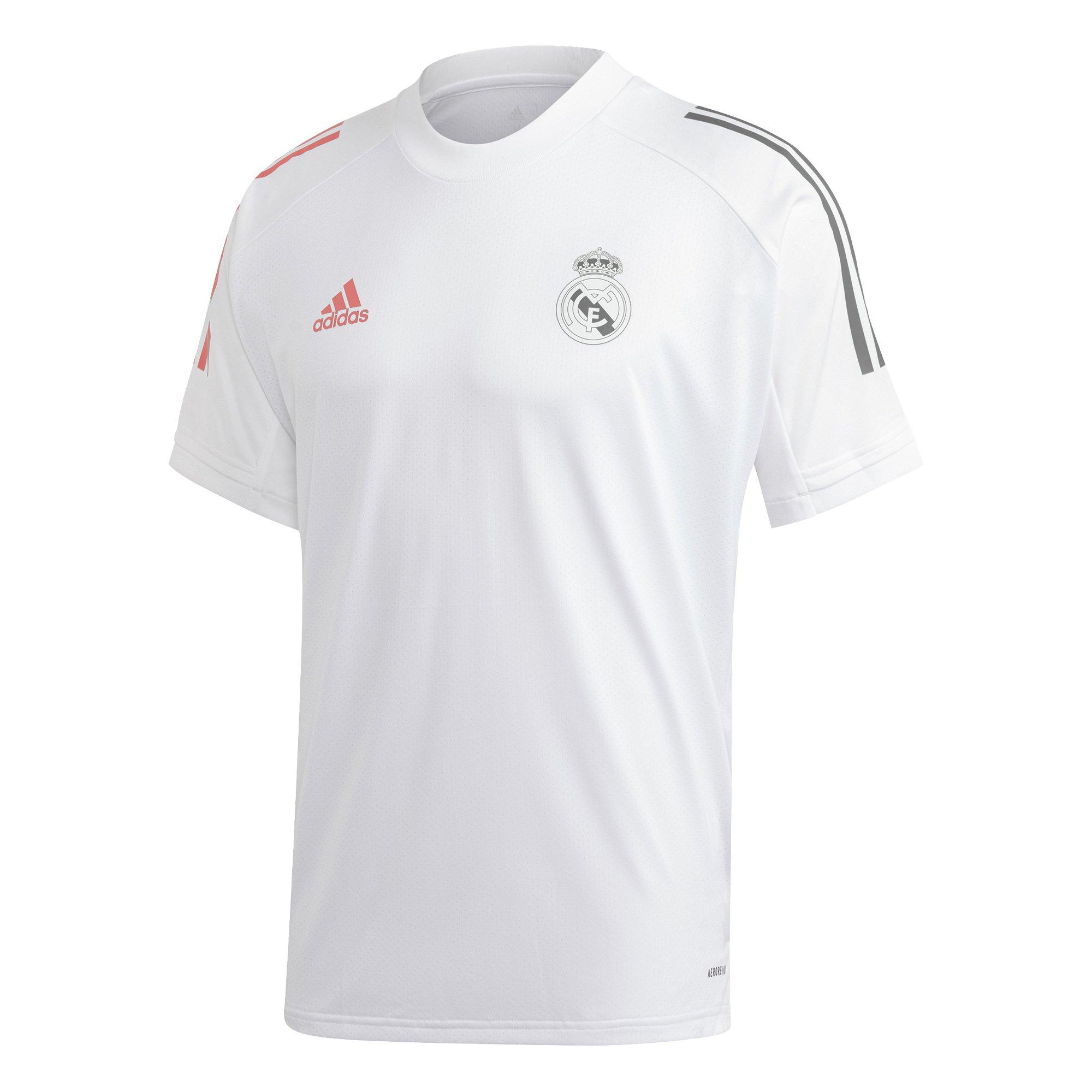 adidas Real Madrid Trainingsshirt 2020-2021 Wit