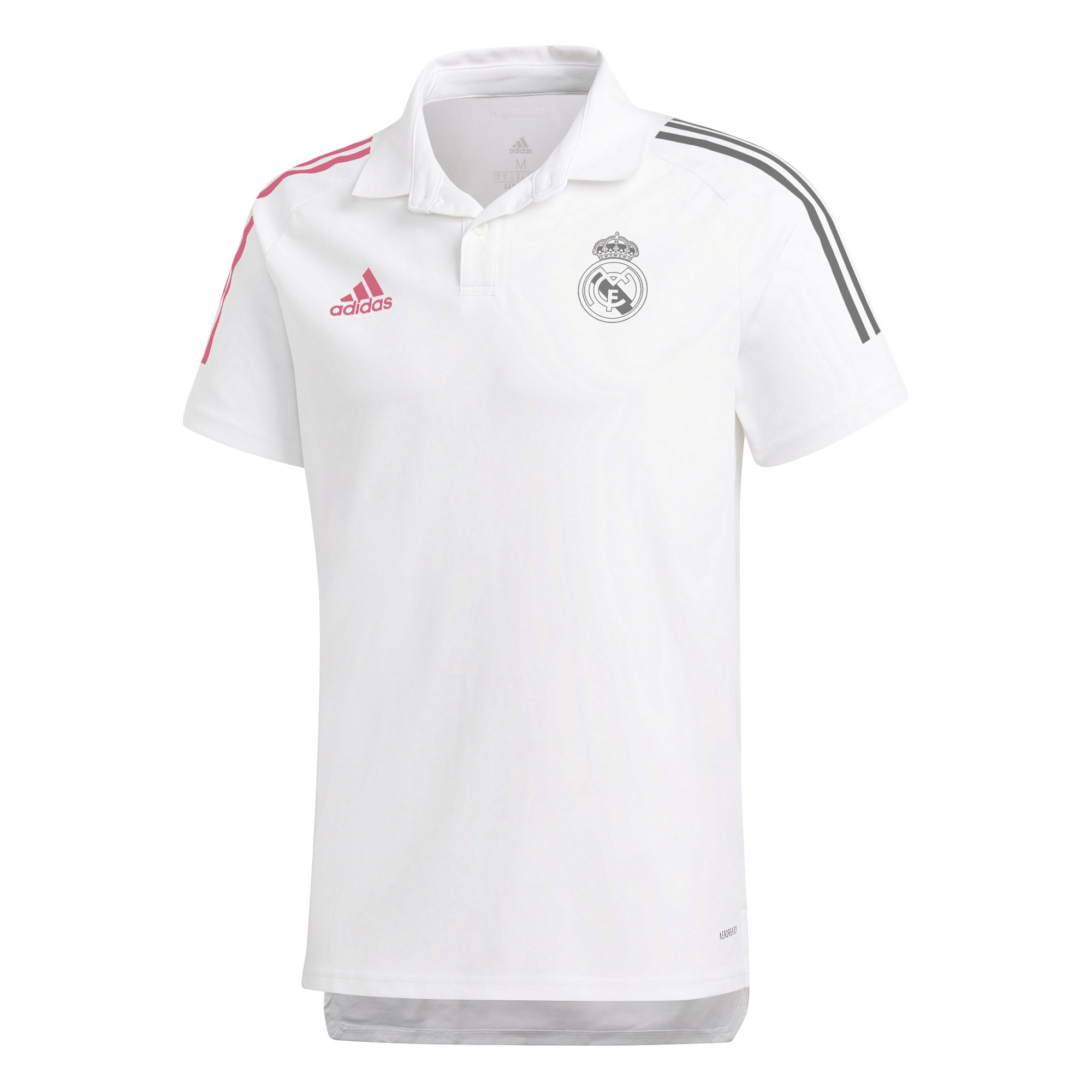 adidas Real Madrid Polo 2020-2021 Wit