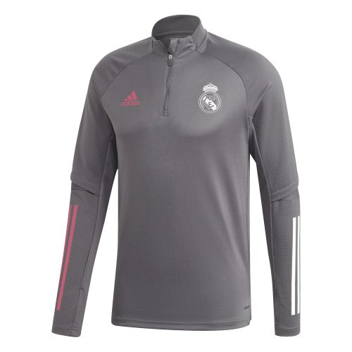 adidas Real Madrid Trainingstrui 2020-2021 Grijs