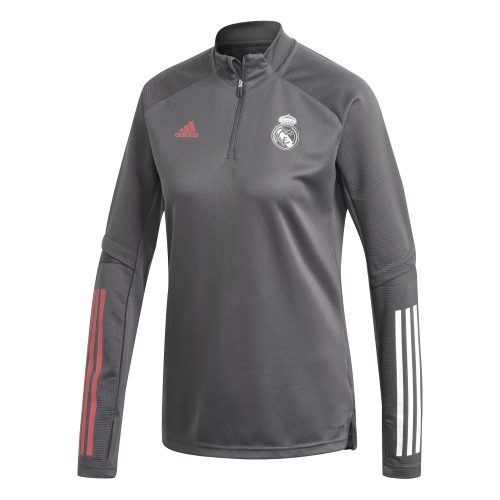 adidas Real Madrid Trainingstrui 2020-2021 Vrouwen Grijs
