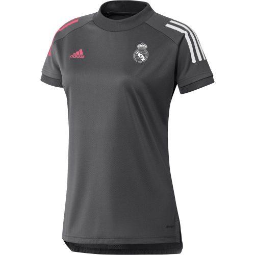 adidas Real Madrid Trainingsshirt 2020-2021 Vrouwen Grijs