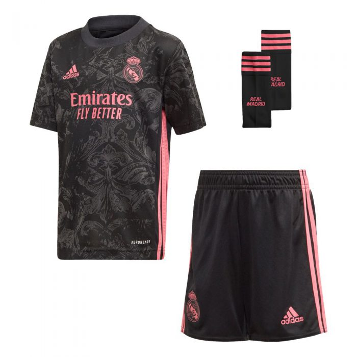 adidas Real Madrid 3rd Minikit 2020-2021