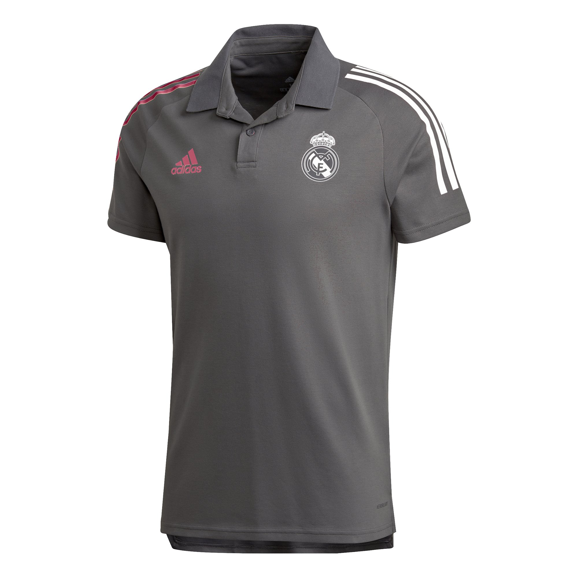 adidas Real Madrid Polo 2020-2021 Grijs