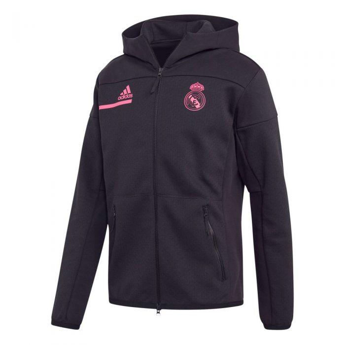 adidas Real Madrid ZNE Hoodie 2020-2021 Zwart Roze