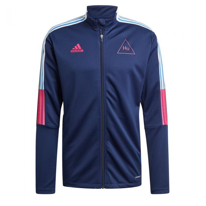adidas HUFC Trainingsjack 2020-2021 Donkerblauw