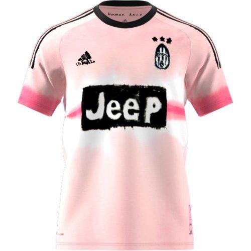 adidas Juventus HUFC Voetbalshirt Roze Zwart
